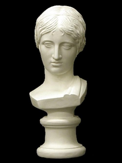 ギリシャ少女胸像 52cm K-141