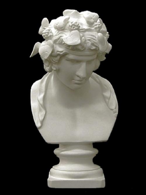 デュオニソス胸像(バッカス) 34cm K-157
