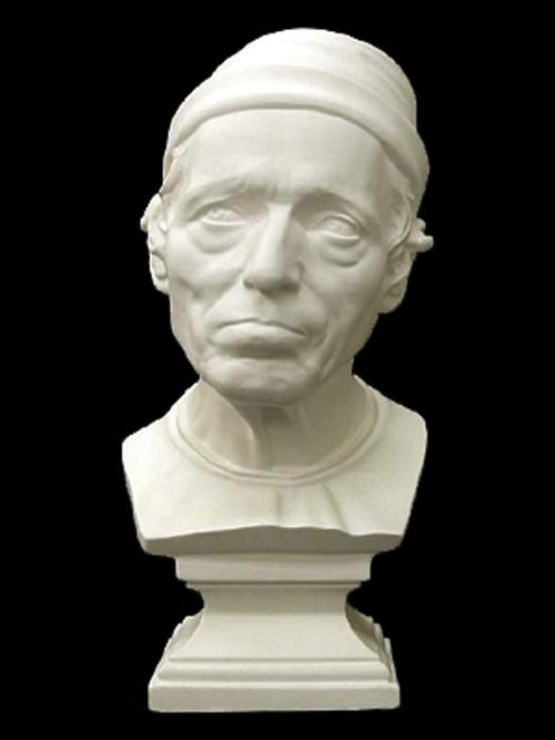 ルカデラ・ロッピーア作 老人の像 49cm K-169