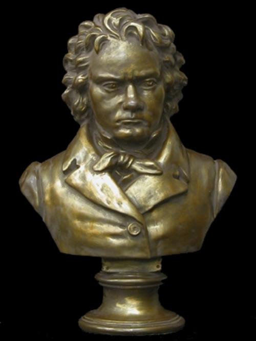 ベートーヴェン胸像(大)(着色) 53cm K-183