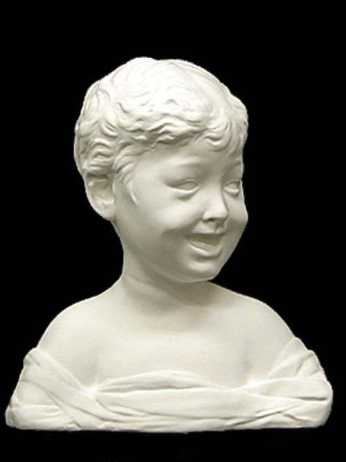 ドナテルロ作 少年胸像 32cm A-331