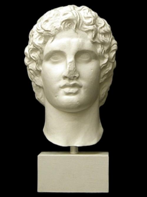 アレキサンダー大王首像 43cm S-207