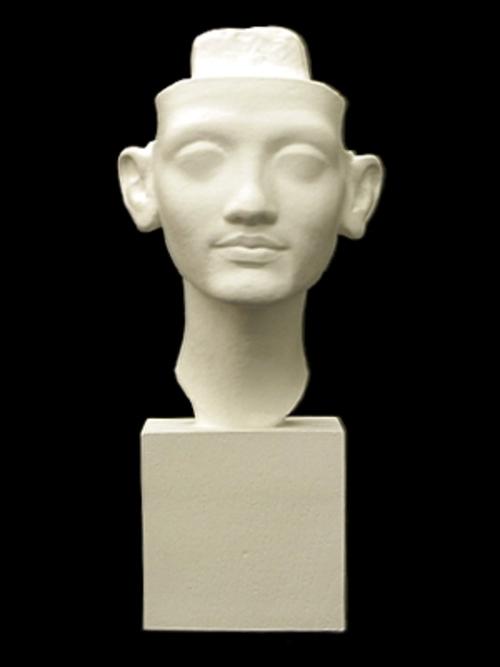 エジプト王妃首像 32cm S-224