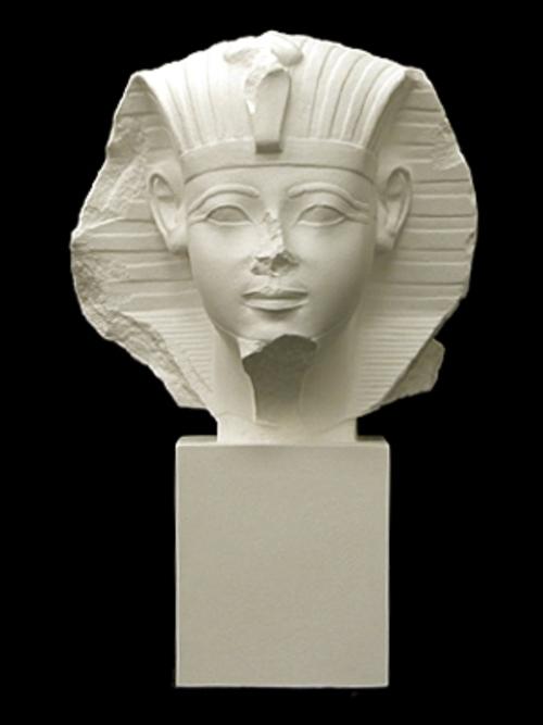 エジプト王首像 33cm S-225