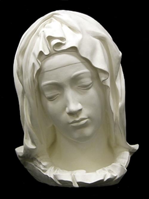 マリア首像(原作大)ピエタの部分 39cm S-231