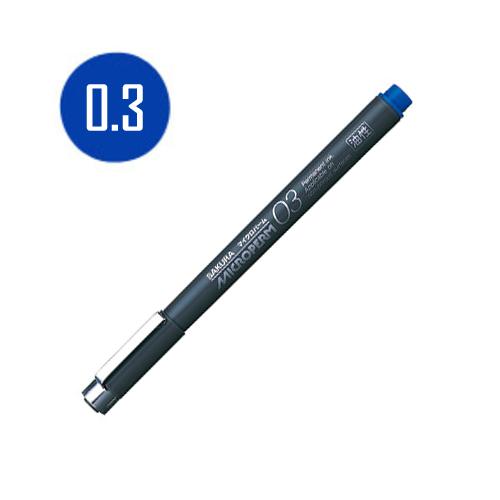 サクラ マイクロパーム[あお]0.3mm
