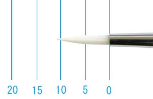 世界堂油彩筆 NR666(ラウンド・白ナイロン)0号