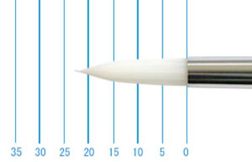 世界堂油彩筆 NR666(ラウンド・白ナイロン)10号