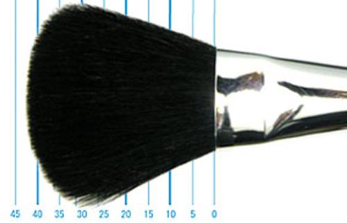 世界堂 モップブラシ(オーバル・染羊毛)1インチ
