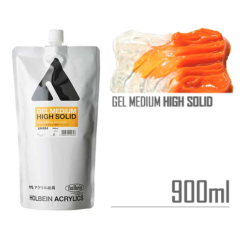 ホルベイン ジェルメディウム[ハイソリッド]900ml(AM484)