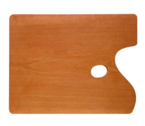世界堂 油絵用木製パレット F6[角型]