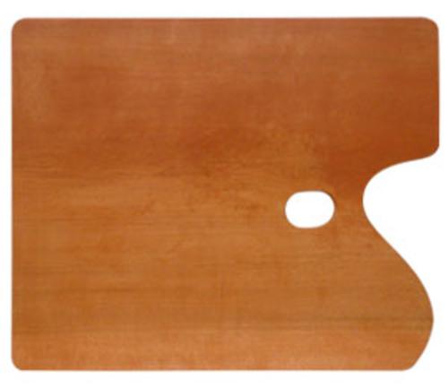 世界堂 油絵用木製パレット F8[角型]
