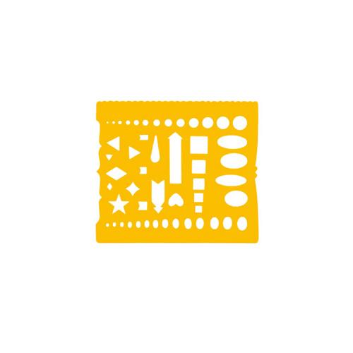 ウチダテンプレート No.72 カット定規(1-843-0072)