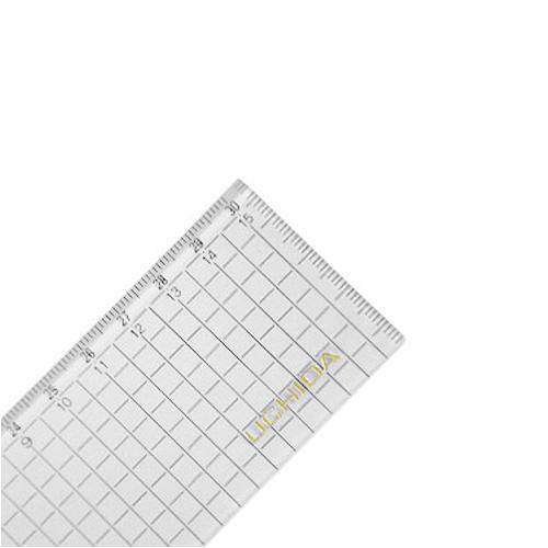 ウチダ 方眼直線定規30cm型(1-807-7030)