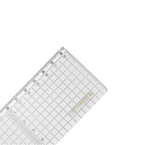 ウチダ 方眼直線定規36cm型(1-807-7036)
