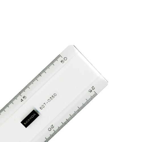 ウチダ 超硬直線定規50cm型(1-807-0350)