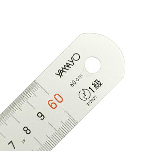 ヤマヨ シルバー直尺60cm