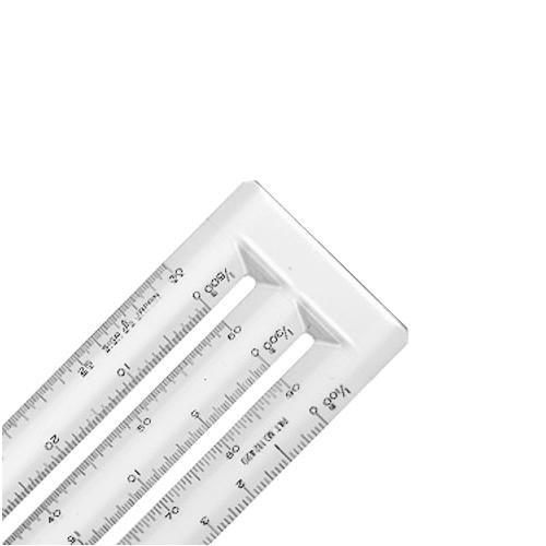 ウチダ ヘキサスケール15cm(1-882-0115)
