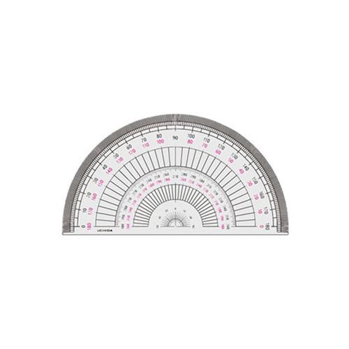 ウチダ 半円分度器15cm型(1-822-0103)
