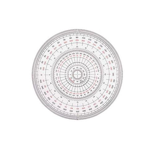 ウチダ 全円分度器15cm型(1-822-0001)