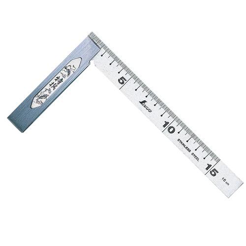 シンワ 完全スコヤ[裏面角目]15cm(62006)
