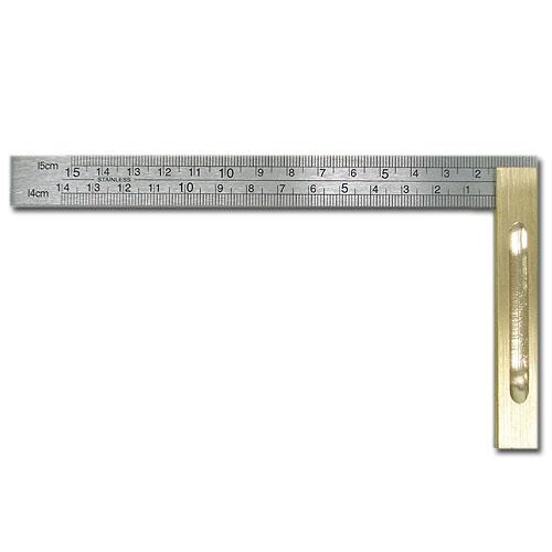 新日本造形 SN直角定規(スコヤ)150mm[メモリ付]