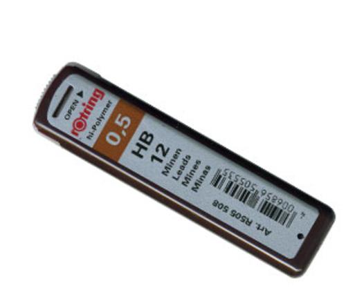 ロットリング シャープ芯[0.5mm]HB(S0312650)