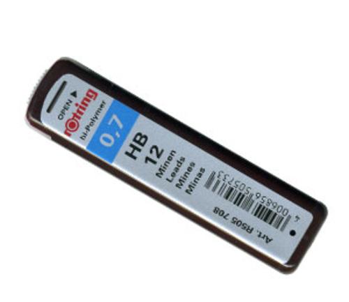 ロットリング シャープ芯[0.7mm]HB(S0312690)
