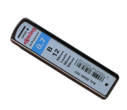 ロットリング シャープ芯[0.7mm]B(S0312680)