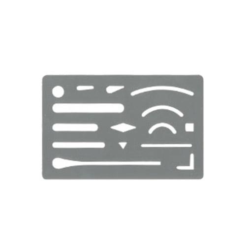 ウチダ ステンレス字消板[A](1-820-0000)