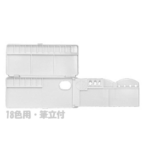 ミッキー 三面パレット[18色用・筆立付]No.2500