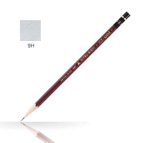 三菱 ハイユニ鉛筆 9H