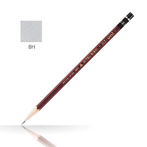 三菱 ハイユニ鉛筆 8H