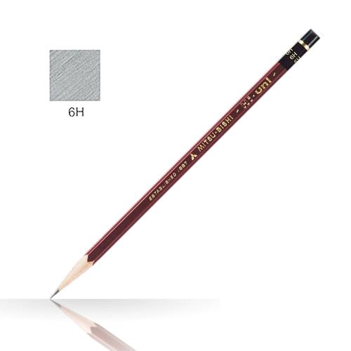 三菱 ハイユニ鉛筆 6H