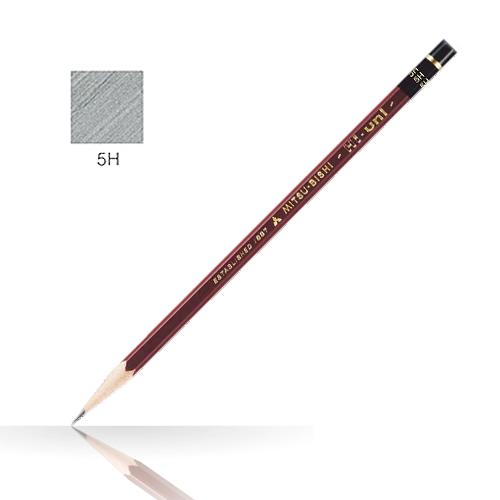 三菱 ハイユニ鉛筆 5H