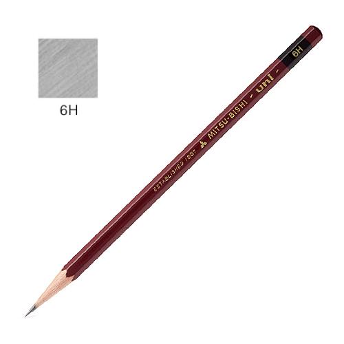 三菱 ユニ鉛筆 6H