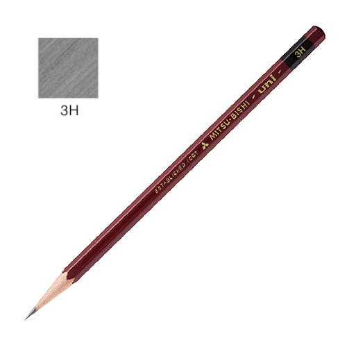 三菱 ユニ鉛筆 3H