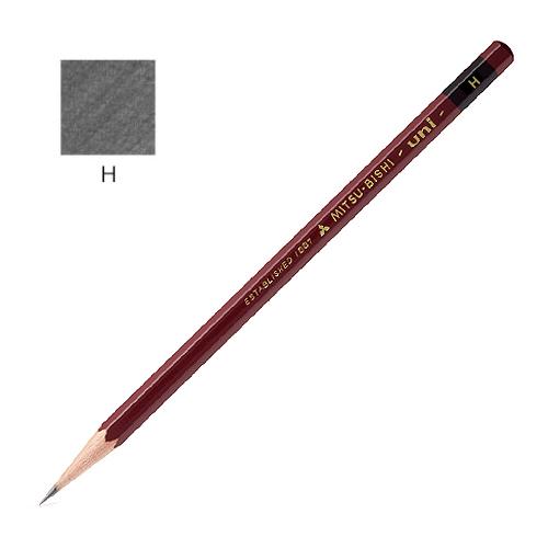 三菱 ユニ鉛筆 H