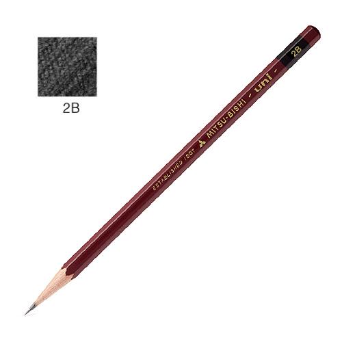 三菱 ユニ鉛筆 2B