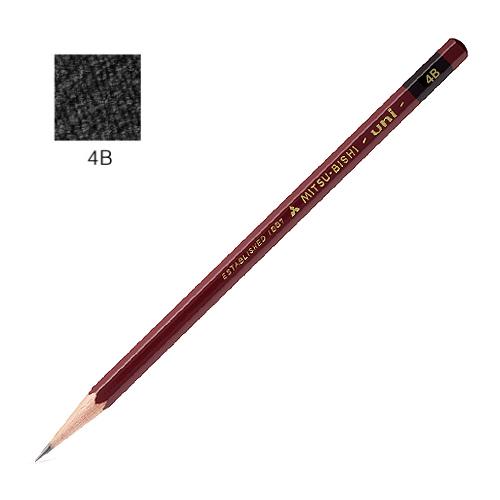 三菱 ユニ鉛筆 4B