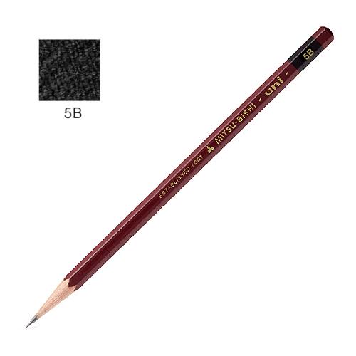 三菱 ユニ鉛筆 5B
