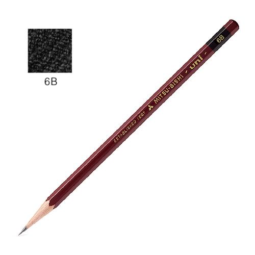 三菱 ユニ鉛筆 6B