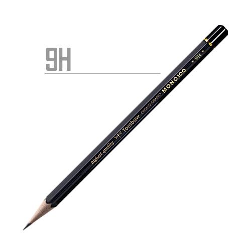 トンボ 鉛筆MONO[100]9H