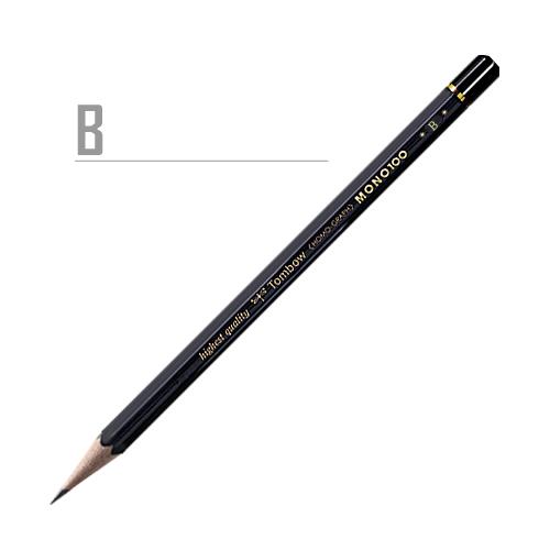 トンボ 鉛筆MONO[100]B