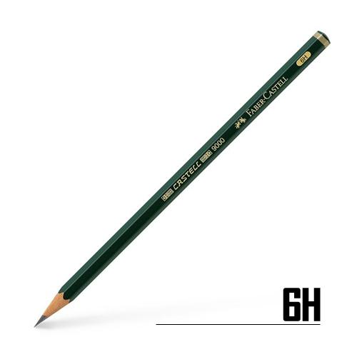 ファーバーカステル カステル9000鉛筆 6H