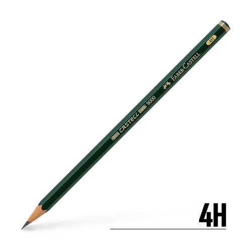 ファーバーカステル カステル9000鉛筆 4H