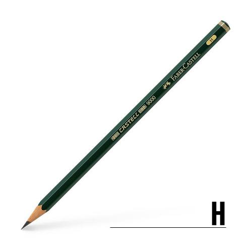 ファーバーカステル カステル9000鉛筆 H