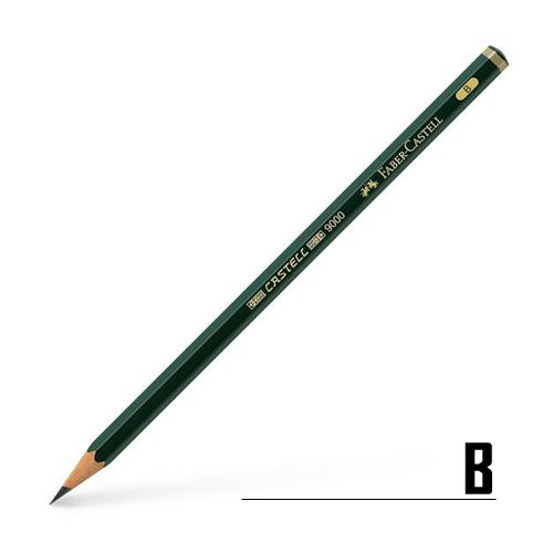 ファーバーカステル カステル9000鉛筆 B