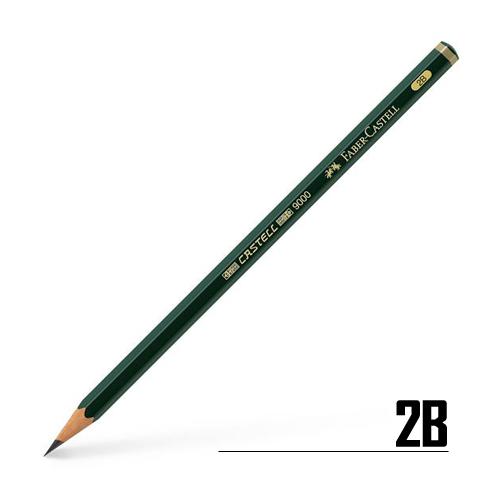 ファーバーカステル カステル9000鉛筆 2B