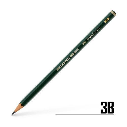 ファーバーカステル カステル9000鉛筆 3B